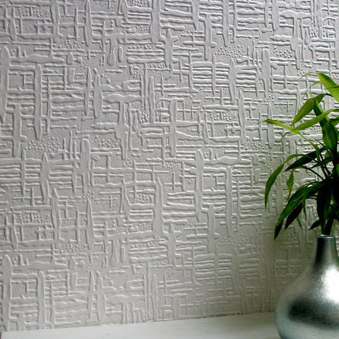 Edward Paintable Supaglypta Wallpaper Design By Brewster Home Fashions ...