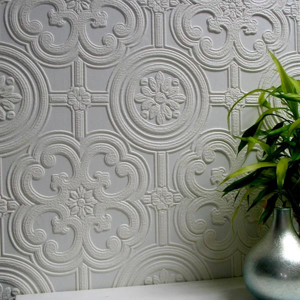 Egon Paintable Textured Wallpaper design by Brewster Home Fashions
