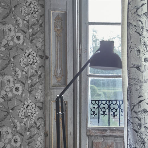 Emelie Wallpaper from the Mandora Collection by Designers Guild