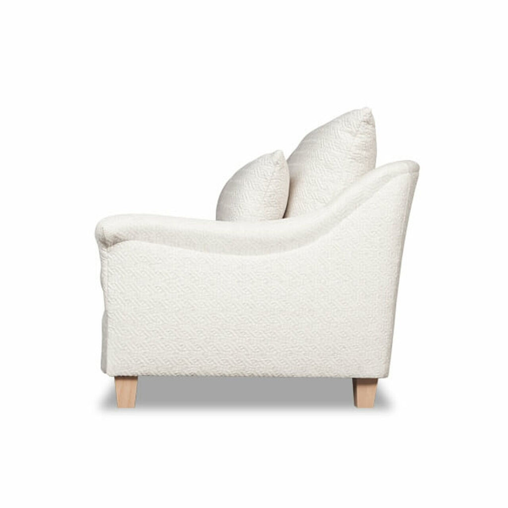 Emma Loveseat in Various Fabric Options