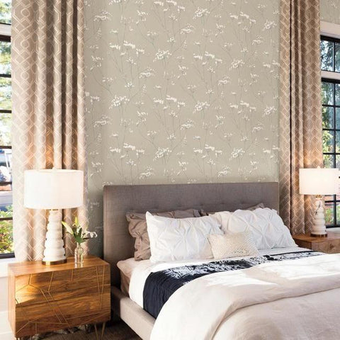 Enchanted Wallpaper from the Botanical Dreams Collection by Candice Olson for York Wallcoverings
