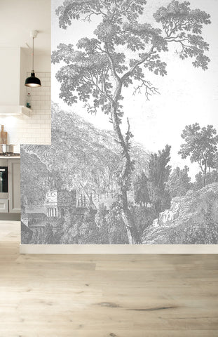 Engraved Landscapes 322 Wall Mural by KEK Amsterdam