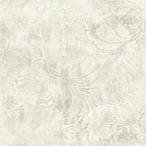 Entablature Scroll Wallpaper from the Impressionist Collection by York Wallcoverings