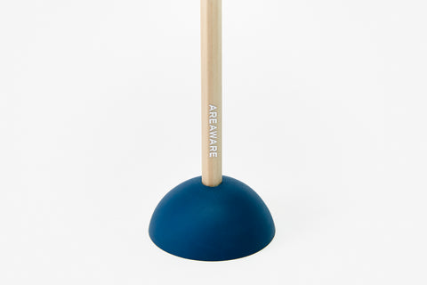 Eraser Pencil Stand in Navy Dome design by Areaware