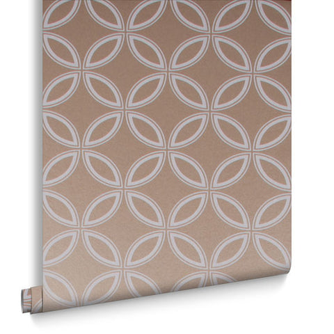 Eternity Wallpaper in Rose Gold from the Exclusives Collection by Graham & Brown