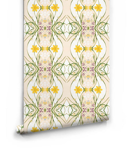 Euphemia 1 Wallpaper from the Lazybones Collection by Milton & King