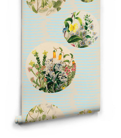 Euphemia 5 Wallpaper from the Lazybones Collection by Milton & King