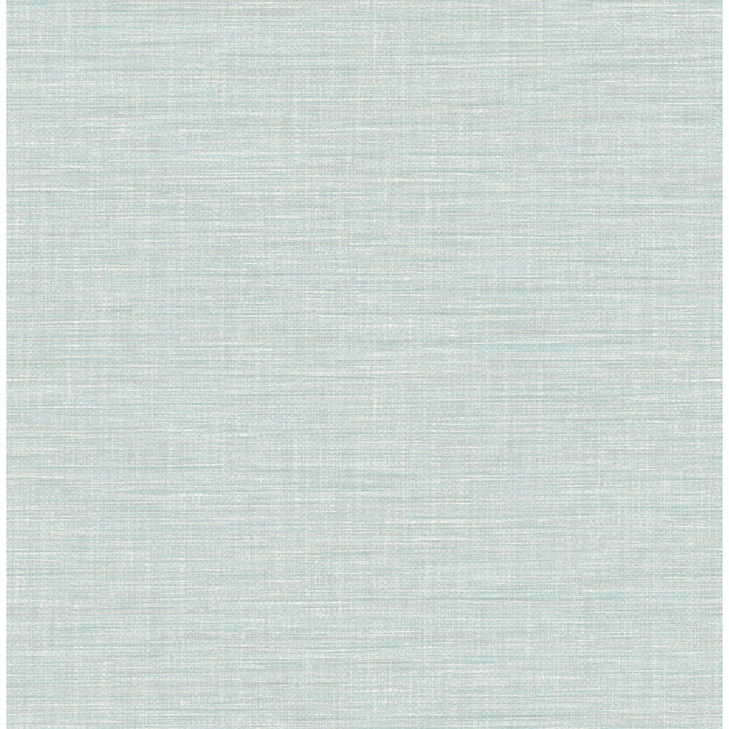 Exhale Woven Texture Wallpaper in Blue from the Pacifica Collection by Brewster Home Fashions