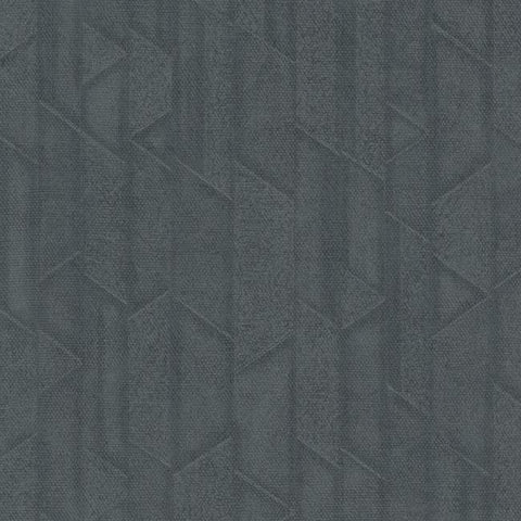 Exponential Wallpaper in Slate from the Moderne Collection by Stacy Garcia for York Wallcoverings