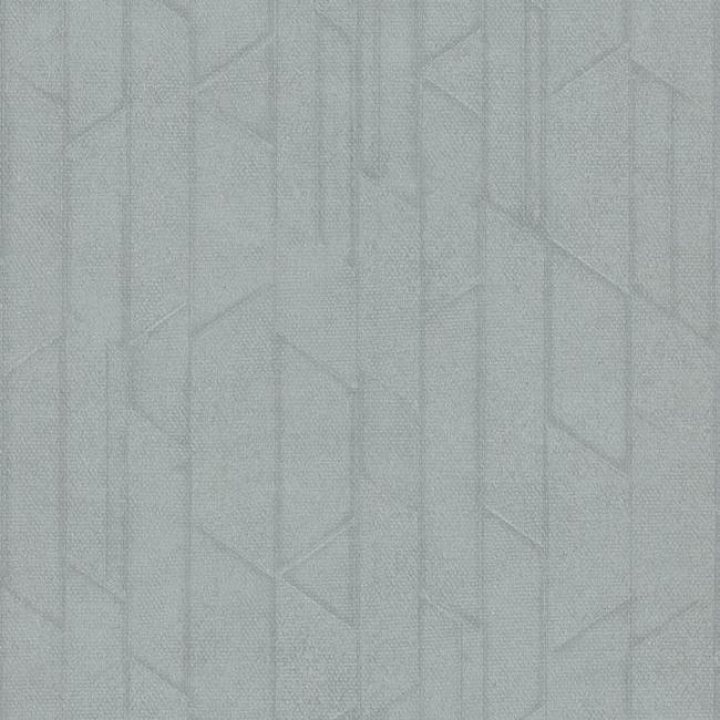 Sample Exponential Wallpaper in Steel Blue from the Moderne Collection by Stacy Garcia for York Wallcoverings