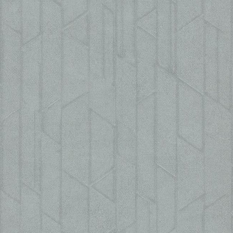Exponential Wallpaper in Steel Blue from the Moderne Collection by Stacy Garcia for York Wallcoverings