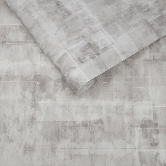 Sample Expression Texture Wallpaper in Natural from the Exclusives Collection by Graham & Brown