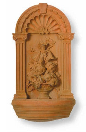 Dutch Master Fountain in Terra-Bronze Finish design by Capital Garden Products