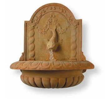 Great Dolphin Fountain in Terra-Bronze Finish design by Capital Garden Products