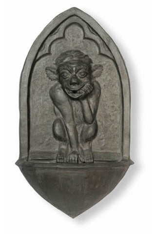Gargoyle Fountain in Faux Lead Finish design by Capital Garden Products