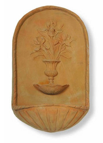 Petal Fountain in Terracotta Finish design by Capital Garden Products