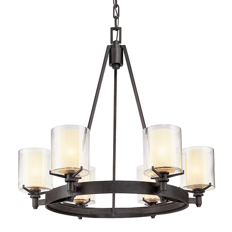 Arcadia Chandelier by Troy Lighting