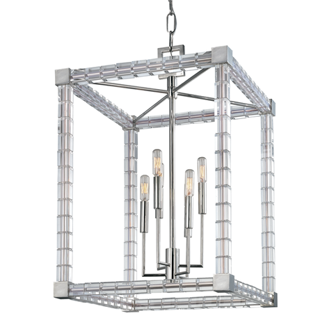Alpine 6 Light Chandelier by Hudson Valley Lighting