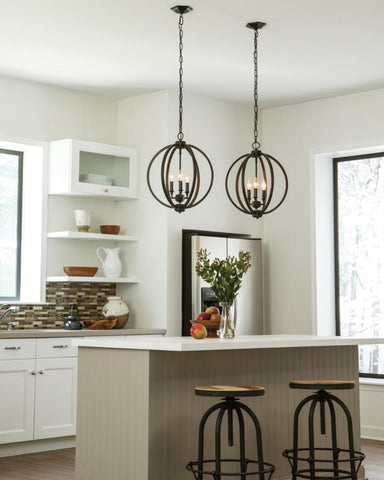 Corinne Medium Pendant by Feiss