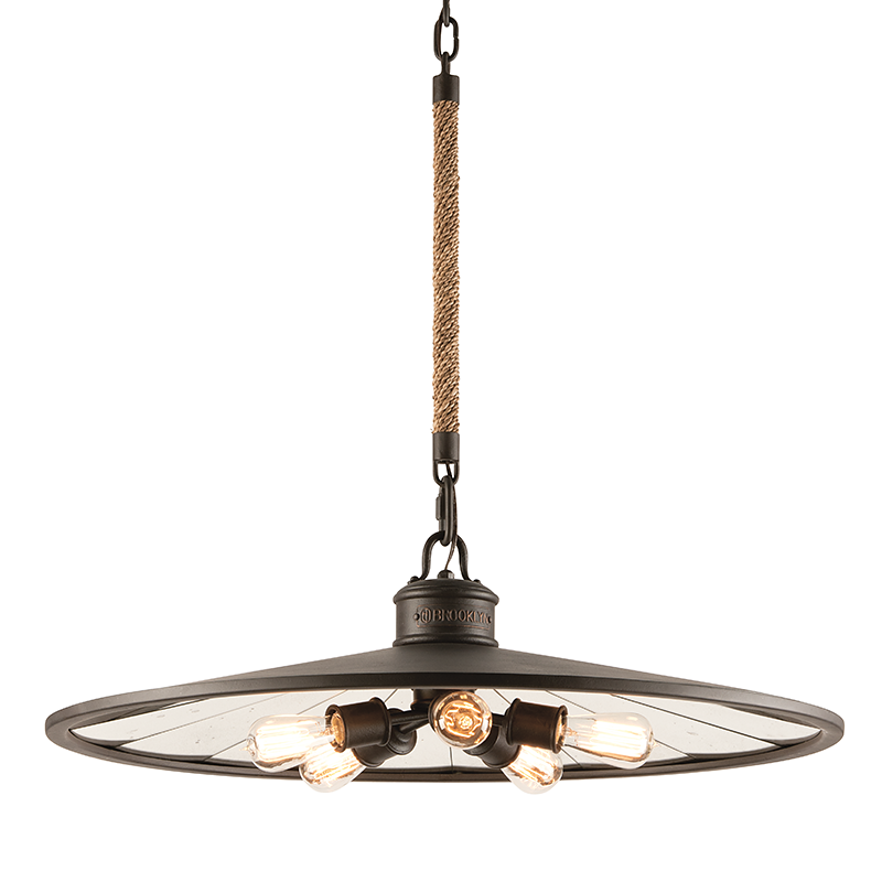 Brooklyn Pendant Large by Troy Lighting