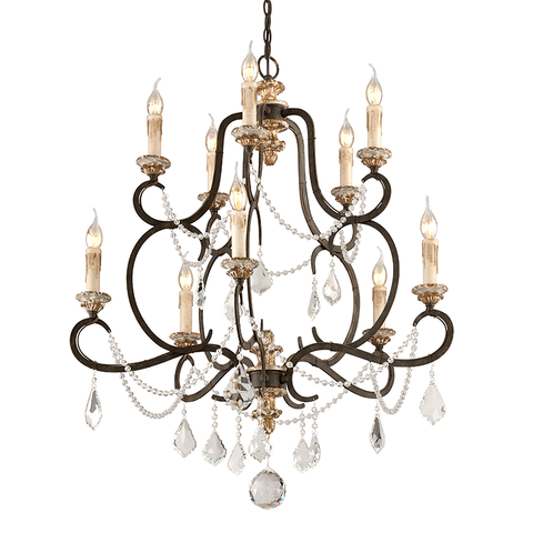 Bordeaux Chandelier Medium by Troy Lighting