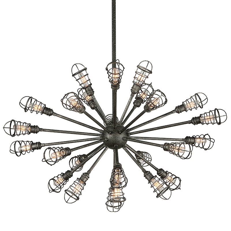 Conduit 2 Chandelier Extra Large by Troy Lighting