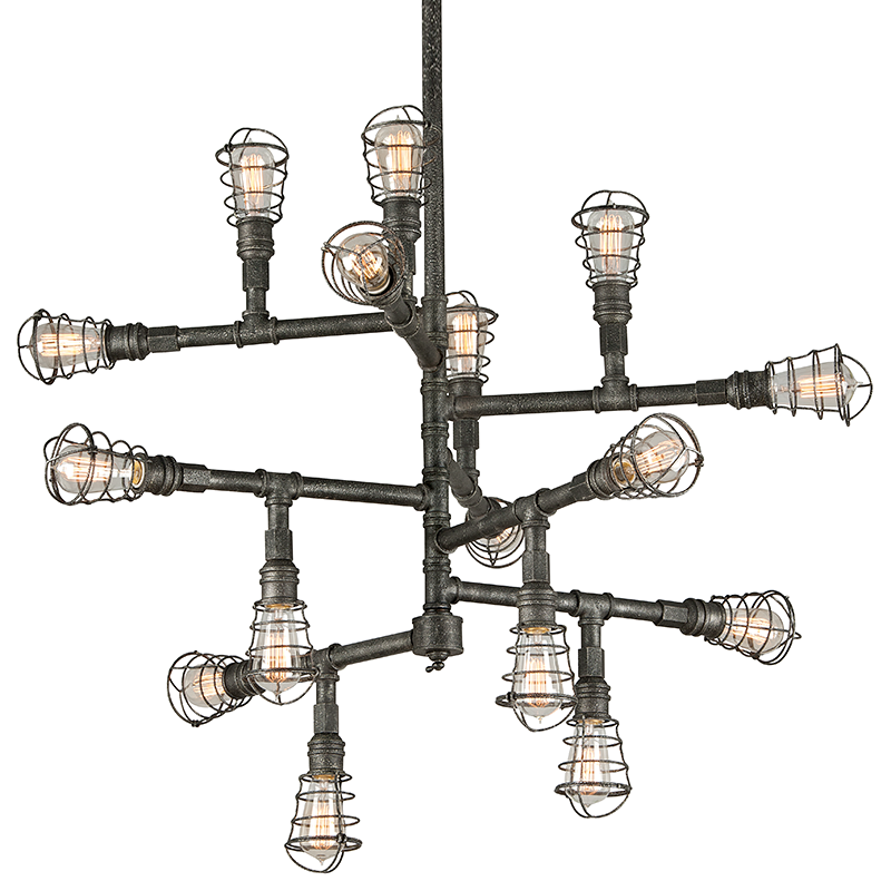 Conduit Chandelier Extra Large by Troy Lighting