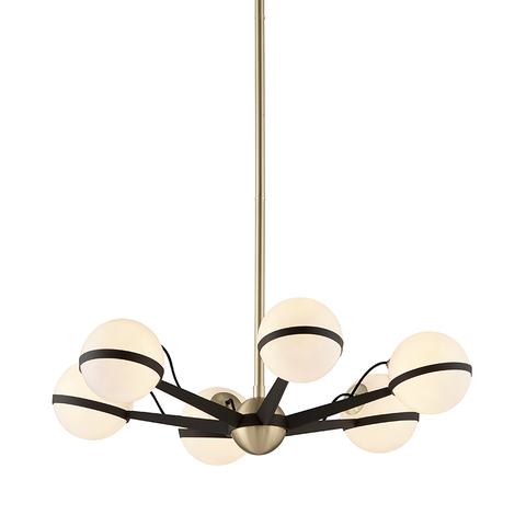 Ace 6 Light Chandelier by Troy Lighting