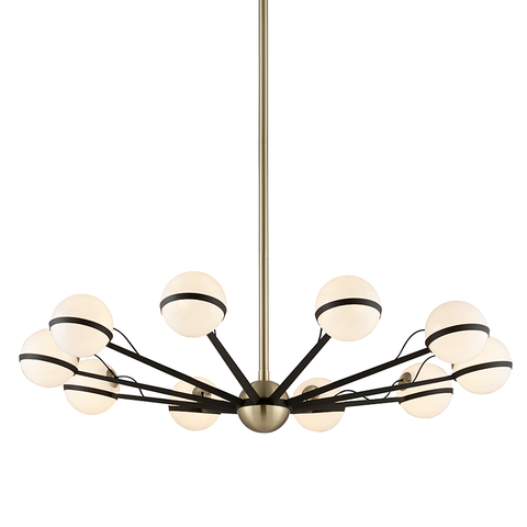 Ace 10 Light Chandelier by Troy Lighting