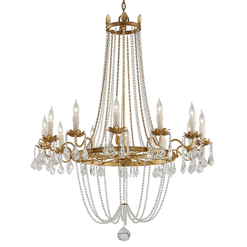 Viola Chandelier Large by Troy Lighting
