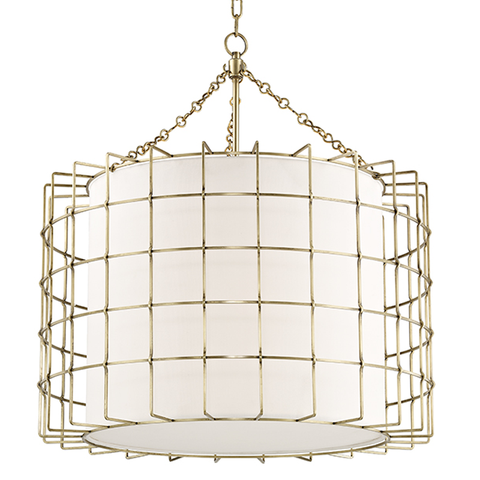 Sovereign 4 Light Pendant by Hudson Valley Lighting