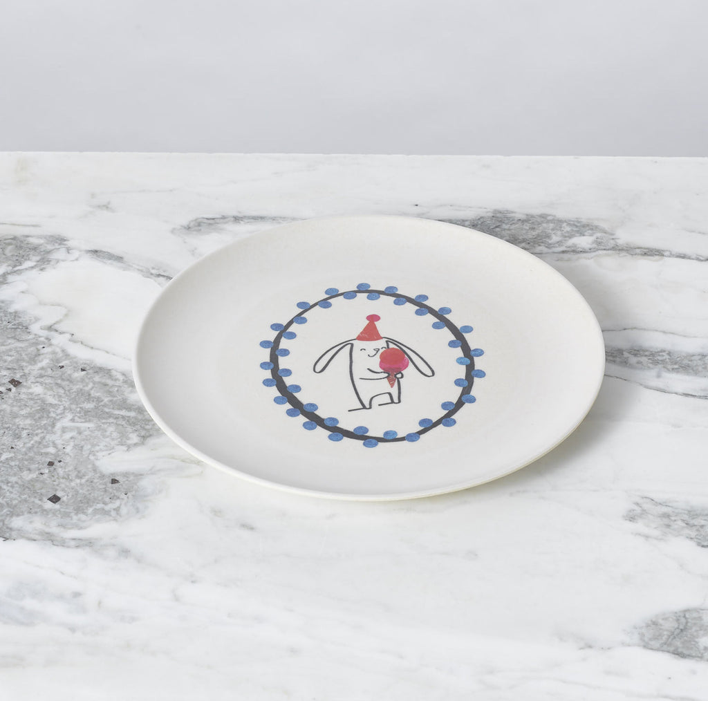 Illustrated Dish Set - Bunny by Fable New York
