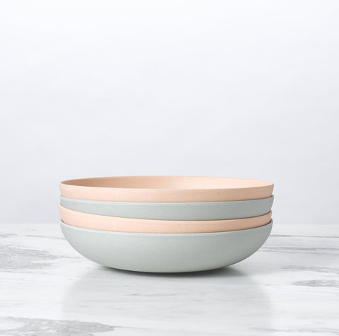 Palette Bamboo Low Bowl