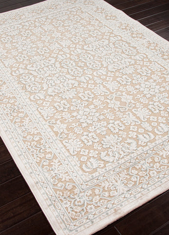 Fables Rug in Warm Sand & Birch design by Jaipur