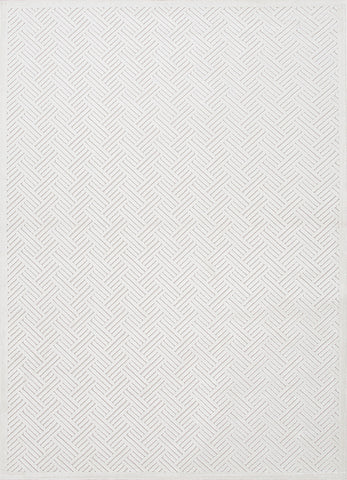 Fables Rug in Bright White & White Sand design by Jaipur