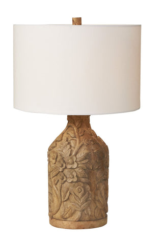 Shanghai Paradise Carved Lamp design by Selamat