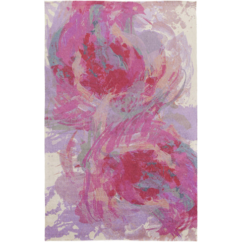 Felicity FCT-8002 Rug in Bright Pink & Bright Purple by Surya