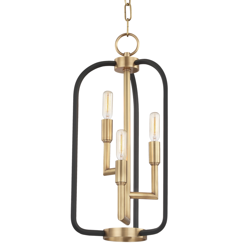 Angler 3 Light Chandelier by Hudson Valley Lighting