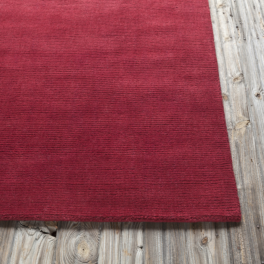 Ferno Collection Hand-Tufted Area Rug in Red design by Chandra rugs