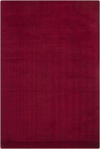Ferno Collection Hand-Tufted Area Rug in Red