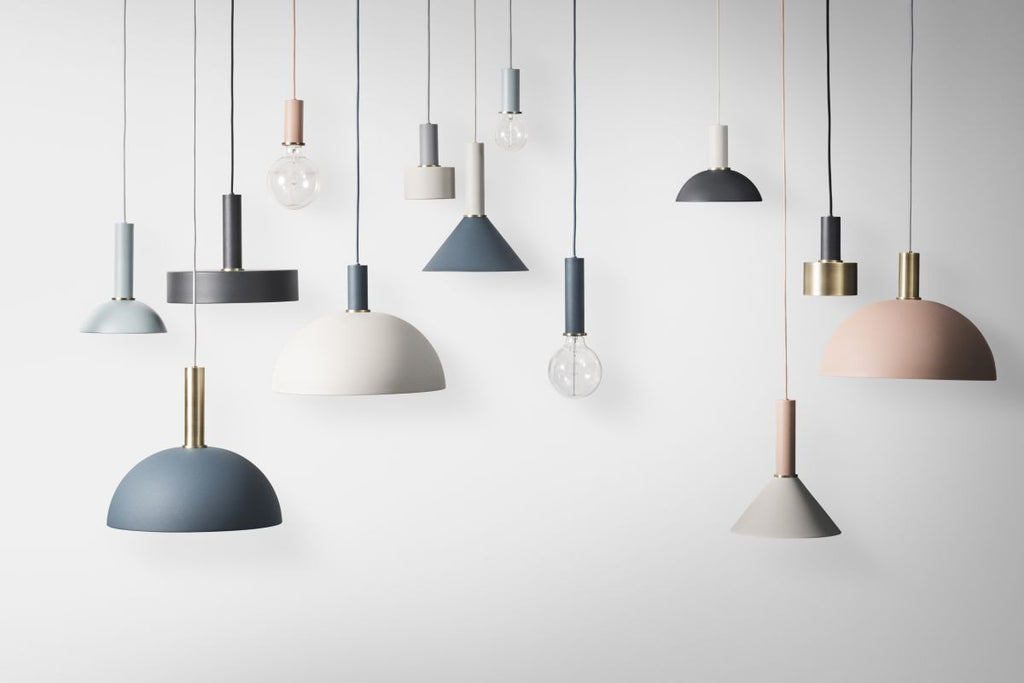 Dome Shade in Rose by Ferm Living