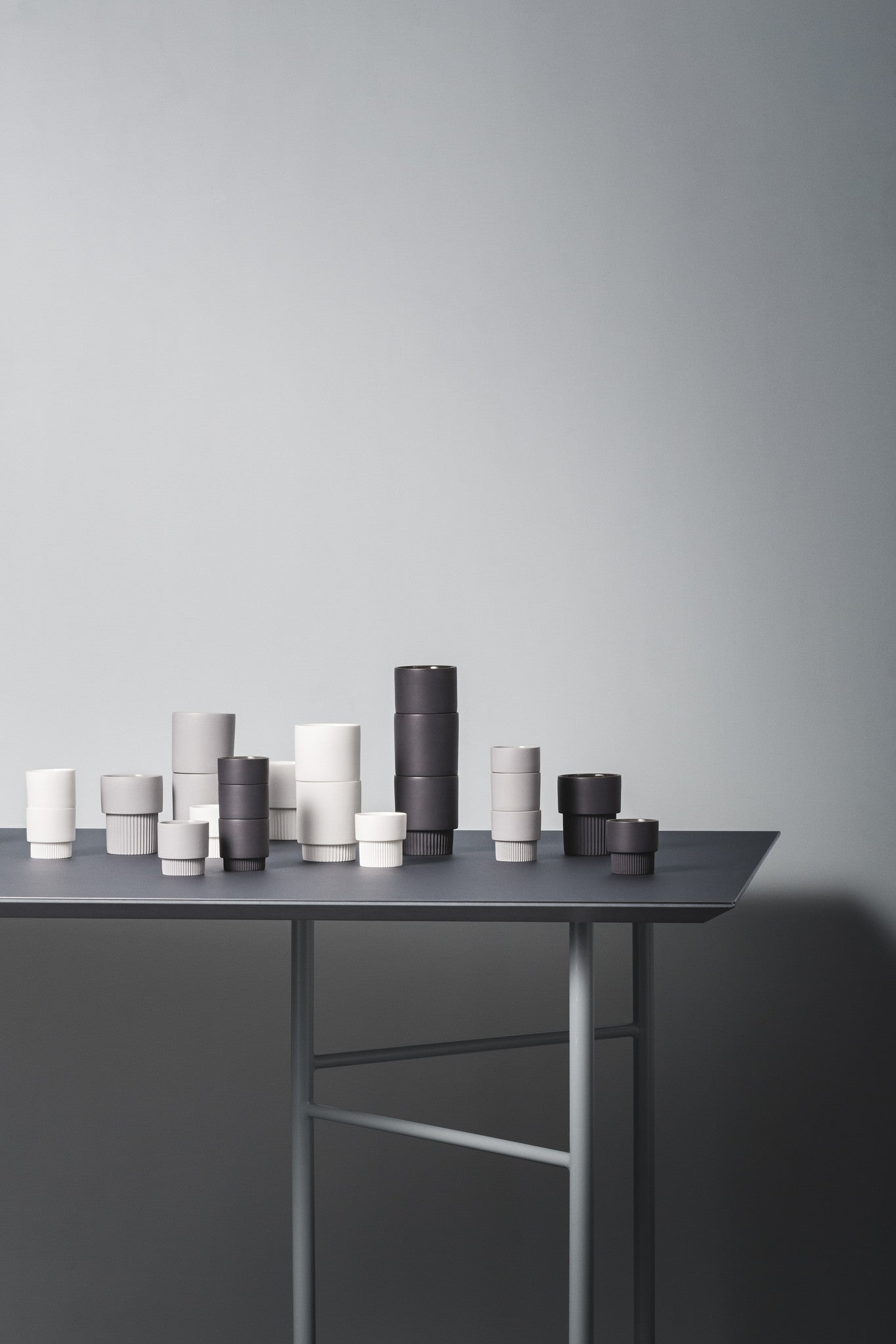 Mingle Table Top in Linoleum Charcoal design by Ferm Living – BURKE ...