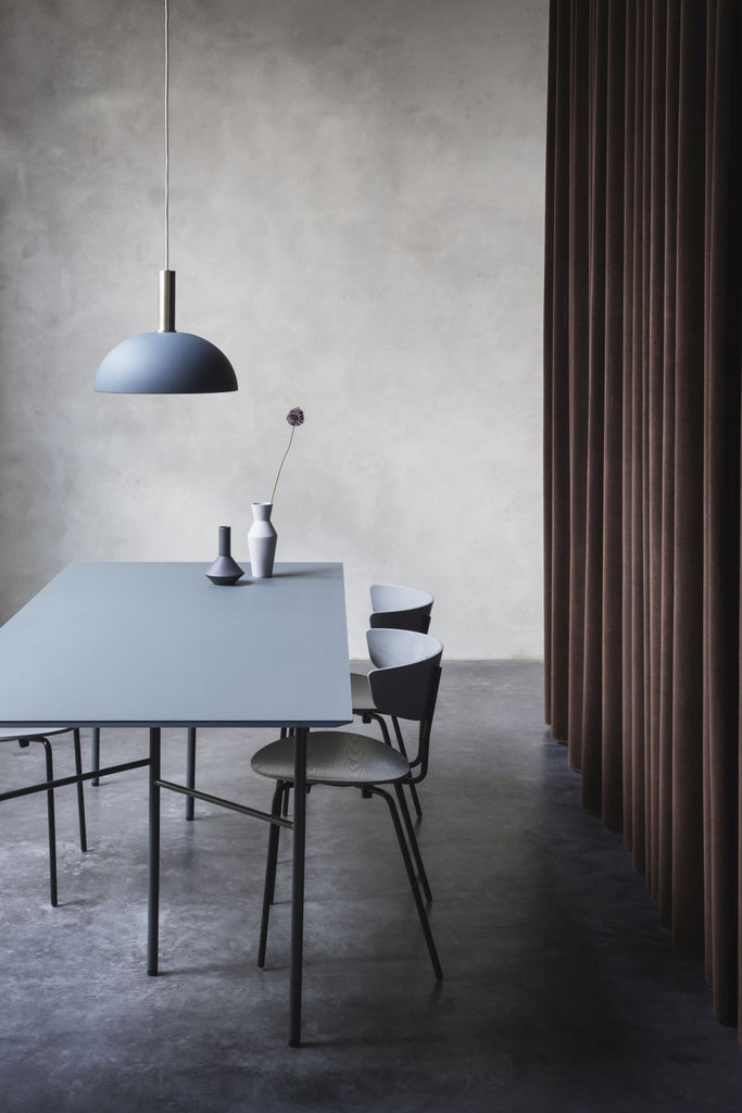 Socket Pendant High in Light Grey by Ferm Living