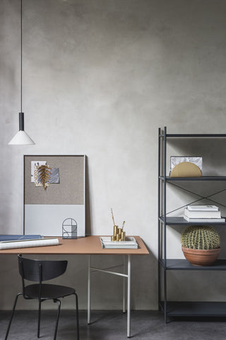 Cone Shade in Light Grey design by Ferm Living