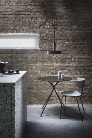 Socket Pendant High in Light Grey design by Ferm Living