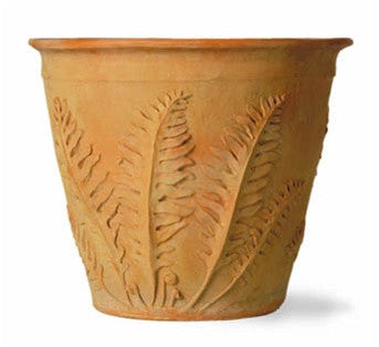 Fern Planter in Terracotta Finish design by Capital Garden Products