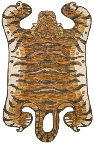 Feroz Rug in Gold by Justina Blakeney for Loloi