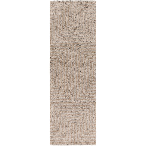Falcon FLC-8000 Hand Tufted Rug in Ivory & Taupe by Surya