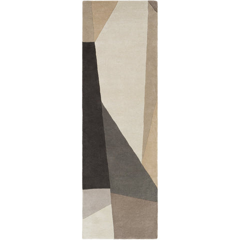 Forum FM-7225 Hand Tufted Rug in Charcoal & Light Gray by Surya
