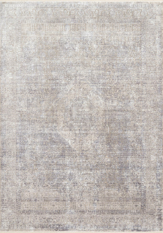 Franca Rug in Silver / Pebble by Loloi